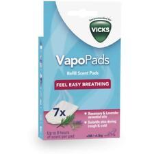 Vicks Pédiatrique Recharge de Vaporisateur Parfumée Vapopads Patins (x7) Romarin