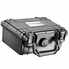 Mantona Small Outdoor Protective Hard Case for Camera Black, foam inlay,
