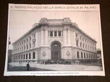 Il Nuovo Palazzo della Banca d'Italia a Milano Architetti Broggi e Nava