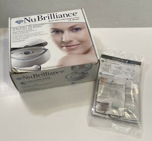 NuBrilliance Real Microdermabrasion Unit At-Home Kit 3 Tips + Filters DVD Works!