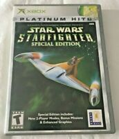 Star Wars: Starfighter Special Edition (Microsoft Xbox, 2001) Complete
