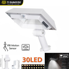 LED Solar Power Light PIR Motion Sensor Security Outdoor Garden Wall Street Lamp