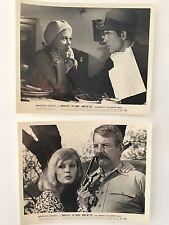 BONNIE AND CLYDE 1967 TWO ORIGINAL MOVIE STILLS PHOTO'S LOBBY CARD  B&W 8X10