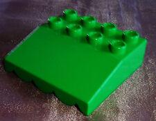 Lego Duplo Bau Platte Dach Vordach Markise aus 6158 6157 5656 10546  h-grün 5604