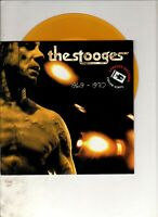 """THE STOOGES 1969-1970 FRENCH 7"""" w/PS Coloured Vinyl PUNK ROCK"""