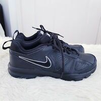 Nike T- Lite XI Men's Casual Shoes UK 6 Black Flats Trainers EUR 40 616544-007