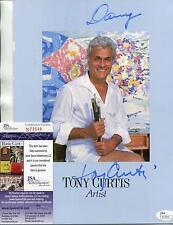 "TONY CURTIS ""SPARTACUS"" ACTOR SIGNED PROGRAM / PHOTO AUTOGRAPH JSA AUTHENTICATED"