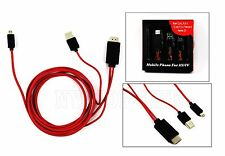 MHL Micro USB to HDMI 1080p HDTV AV Adapter Cable for Samsung Galaxy S III S3
