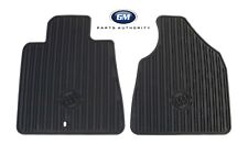 2012-2017 Buick Enclave Front & 2nd Row Premium All Weather Floor Mats Ebony OE