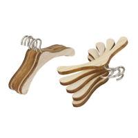10pcs Wood Metal Clothes Hanger for BJD SD MSD DOD DOC DD YOSD Dollfie Doll Accs
