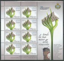 SAN MARINO - 2012 Pro terremotati Emilia Romagna MF**