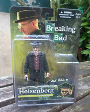 "Breaking Bad Walter White Heisenberg 6"" action figure Mezco Toyz-Giacca Nera"