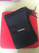 Brand New Black Chanel Dust Bags