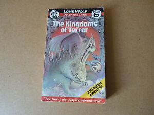 The Kingdoms of Terror. Lone Wolf 6.  First Edition.  1985 Joe Dever Gary Chalk