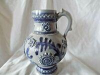 A Vintage German Westerwald Stoneware Jug