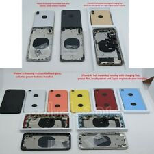 Replace For Iphone XS MAX XS XR NEW OEM Back Housing Door Rear Frame Small Parts