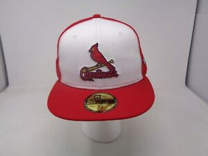 St. Louis Cardinals New Era 9FORTY MLB Trucker Hat Mesh Cap 7 5/8