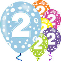 """6 x 13th Birthday Colours Mix 11/"""" Latex Balloons Party Teenager At Last 67575"""