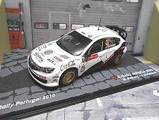 SUBARU Impreza WRC WM Rallye Portugal 2010 #12 Ostberg IXO Altaya S-Pr 1:43