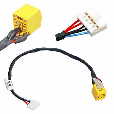 DC POWER JACK W/ HARNESS CABLE PLUG IN FOR LENOVO Essential B590 Notebook