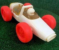 KUSAN RACE CAR Antique Toy Children's Piston Move Up And Down Vintage