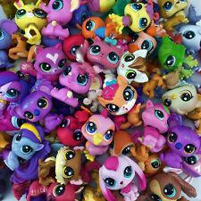 "Xmas Gift Original LPS 20PCS Littlest Pet Shop Hasbro Figure Baby Girl 2.0"" Toy"