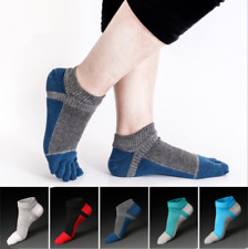 6 Pairs Mens five finger toe Socks Cotton Ankle Casual Sports Low Cut Breathe