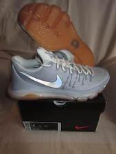 NIKE KD 8-Mens Basketball Shoes-Wolf Grey/Mttlc Silver/Sl/Wht-US Mens 15