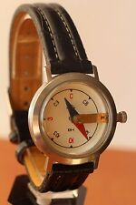 RAKETA RARE WRIST COMPASS made in USSR GOOD+++