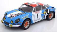 1:18 Solido Renault Alpine A110 1800S Winner Tour de Corse 1973
