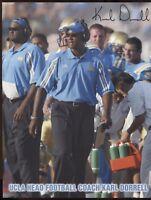 Karl Dorrell Signed 8x10 Photo College NCAA Football Coach Autograph UCLA