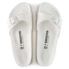 Birkenstock Madrid Essentials White (0128183) EVA Sandals Slides