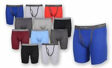 Fruit of the Loom Men's Boxer Briefs 12 PACK Underwear Cotton Fly COLORS VARY
