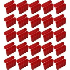 AA AAA CR123A Red Battery Holder Storage Case 25 Cases