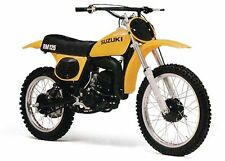 Vintage Suzuki RM100 125 250 370  1978 1979 TS250 Tank Decal Stickers 1976 1977