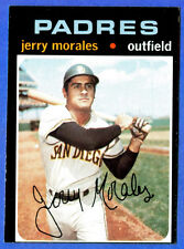 1971 Topps  JERRY MORALES  (San Diego Padres) # 696 (ex+)