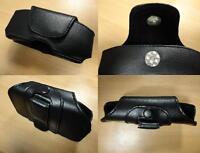 Handytasche Case Tasche Ledertasche - Nokia 1100 1110 1112 1650 - NEU - BLACK