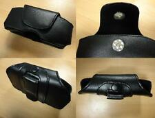 Mobile Phone Pouch Case Bag Leather Bag-Sony Ericsson w800 w810i-NEW-Black