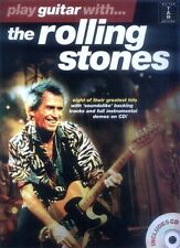 Play Guitar with ... The Rolling Stones Gitarre Noten Tab mit Play-Along CD