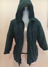 VTG EDDIE BAUER Goose Down Hunter Green POLAR PARKA Jacket Coat