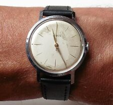 Gents 1950's Swiss Stainless Steel Oris 7J Mechanical cal.392 Watch Serviced