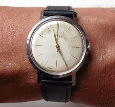 Caballeros década de 1960 Suizo De Acero Inoxidable Reloj Oris 17J mecánico cal.392 Reparado