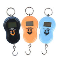 portable 50kg 10g electronic hanging fishing pocket digital weight scale S*
