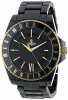 NEW Vivienne Westwood analog watch VV048GDBK Men's Orb black × gold DHL Free