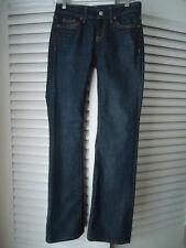 MARTIN + OSA Sz 25 Long Blue Jeans Boot Stretch Marine Attitude New WO/Tag HOT