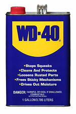 WD40 1 Gallon Can lube lubricant lubricate truck rust penetrating oil wd 40 gal