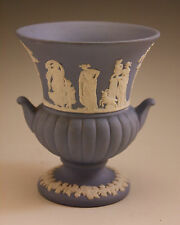Vintage Wedgwood Jasperware Lavender-Blue Olympus, Small Urn-Vase