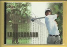 Tiger Woods 2001 Upper Deck Leaderboard Card # 90 PGA Tour Golf