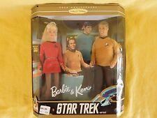 Star Trek BARBIE & KEN 30th Anniversary (1996) Gift Set NEW Collection edition