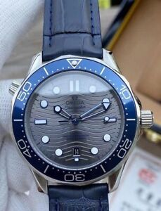 Omega Seamaster Automatic Grey Dial Men's Watch 210.32.42.20.06.001